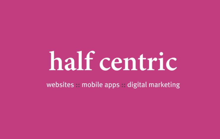 half centric logo
